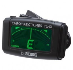 BOSS TU-1 CLIP-ON CHROMATIC TUNER