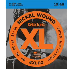 D'ADDARIO EXL 110 NICKEL WOUND 10-46
