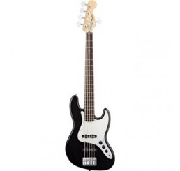 FENDER STANDARD JAZZ BASS V BLACK ROSEWOOD