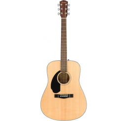 FENDER CD-60S LH, NATUREL
