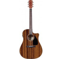 FENDER CD-60 CE, ALL MAHOGANY