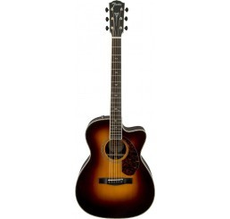FENDER PM-3 PARAMOUNT DELUXE TRIPLE 0 SUNBURST + CASE