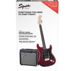 SQUIER AFFINITY STRAT PACK HSS CAR