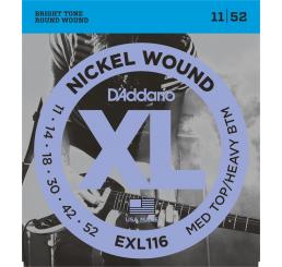D'ADDARIO EXL 116 NICKEL WOUND 11-52
