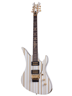SCHECTER SYNYSTER STANDARD WHITE / GOLD