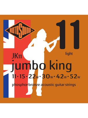 ROTOSOUND JUMBO KING JK11 11-52