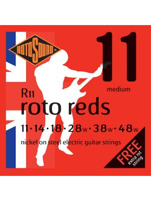 ROTOSOUND ROTO REDS R11 11-48